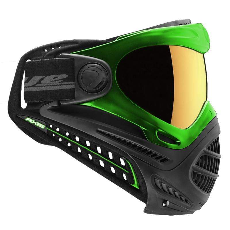 DYE Axis Pro Goggle - Green Northern Lights - Eminent Paintball And Airsoft