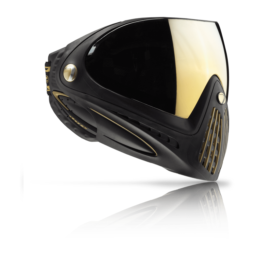 DYE i4 Goggle - Black / Gold Special Edition - Eminent Paintball And Airsoft
