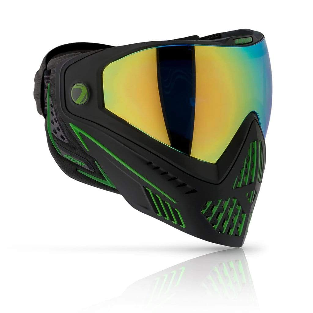 DYE i5 2.0 Goggle - Emerald ( Black/Green ) - Eminent Paintball And Airsoft