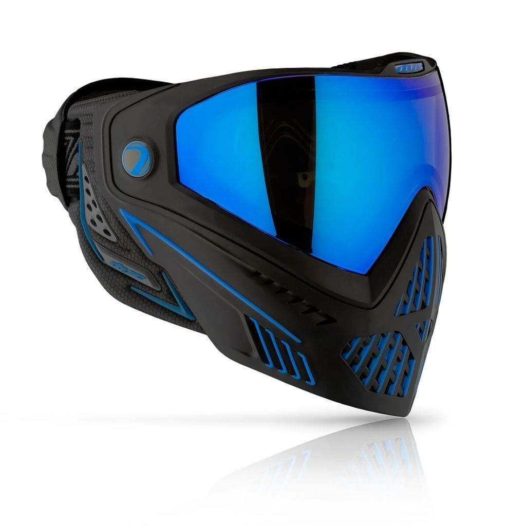 DYE i5 2.0 Goggle - Storm ( Black/Blue ) - Eminent Paintball And Airsoft