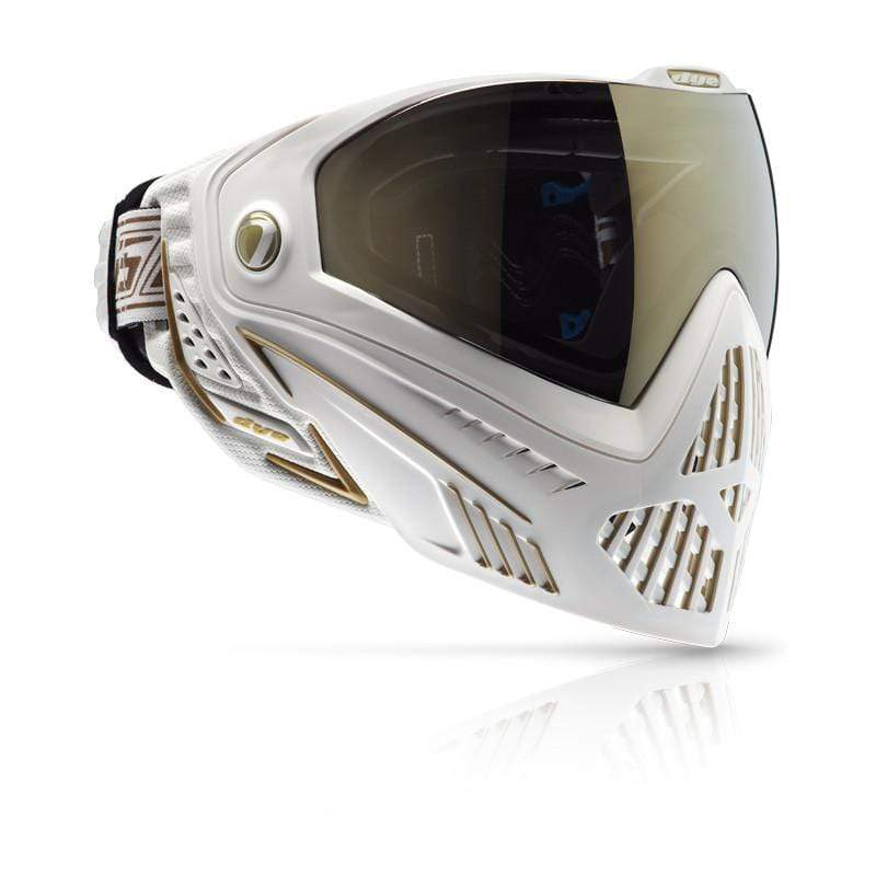 DYE i5 Goggle - White/Gold - Eminent Paintball And Airsoft