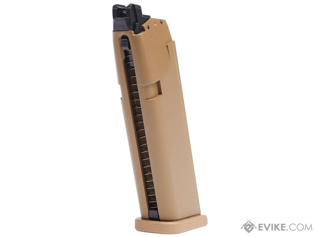 Elite Force 20rd Magazine for GLOCK Licensed G19X Airsoft GBB Pistols (Color: Tan) - Eminent Paintball And Airsoft