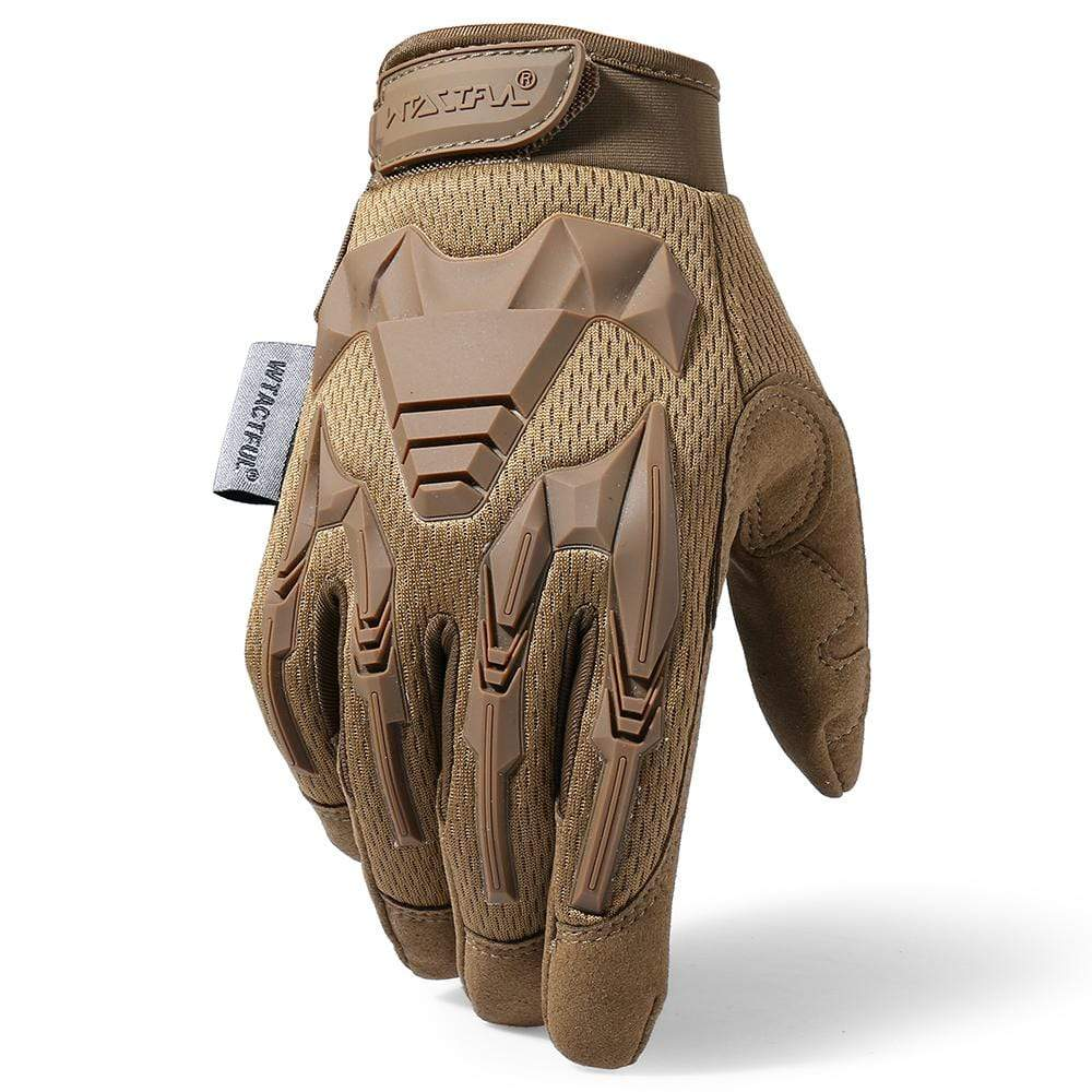 Eminent Tactical Gloves - TAN - Eminent Paintball And Airsoft