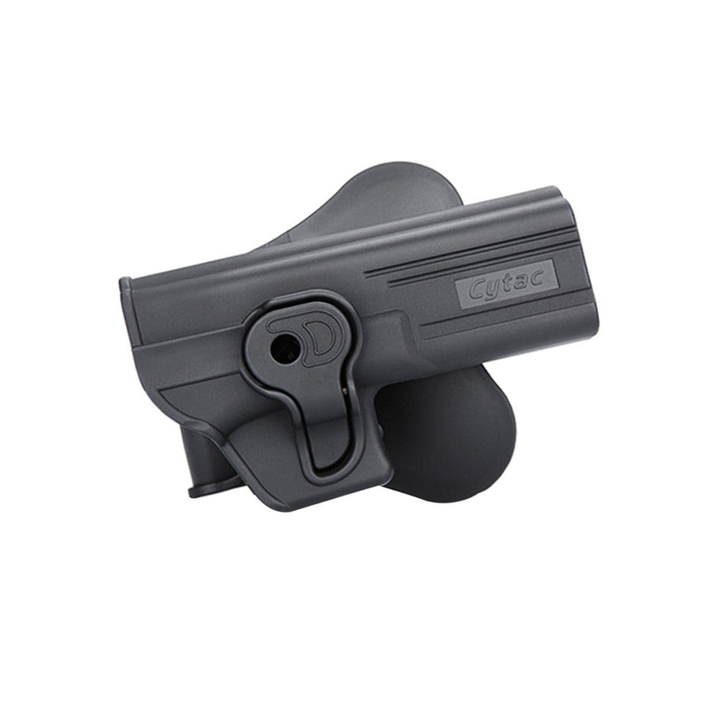 Cytac Hard Shell Fast Draw Holster (Model: Glock 19 23 32 / Paddle Mount) - Eminent Paintball And Airsoft