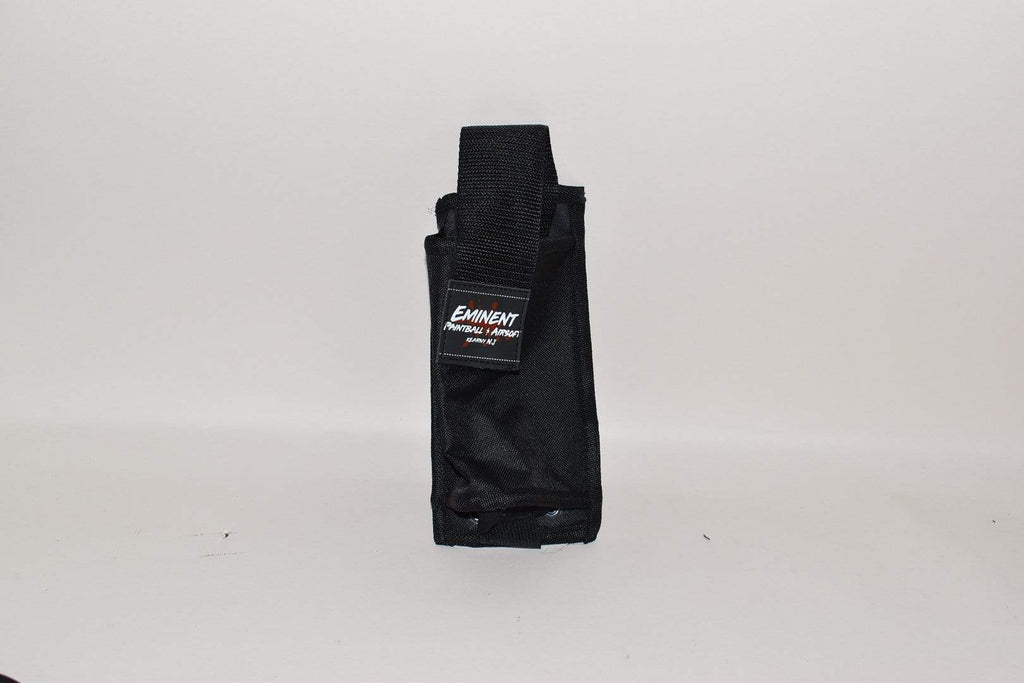 Eminent Paintball Molle Vest 1 Pod Pouch - Black - Eminent Paintball And Airsoft
