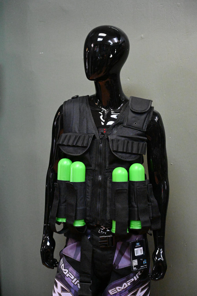 Eminent Paintball And Airsoft Vest Eminent Paintball Vest - Black