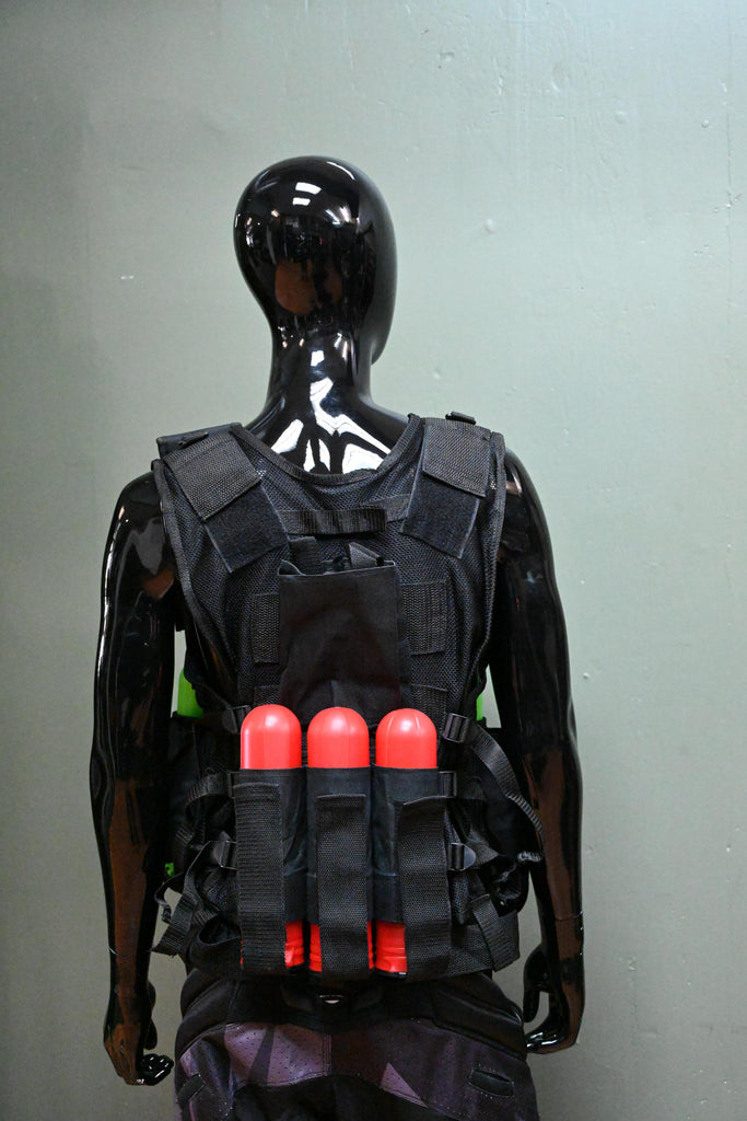 Eminent Paintball Vest - Black - Eminent Paintball And Airsoft