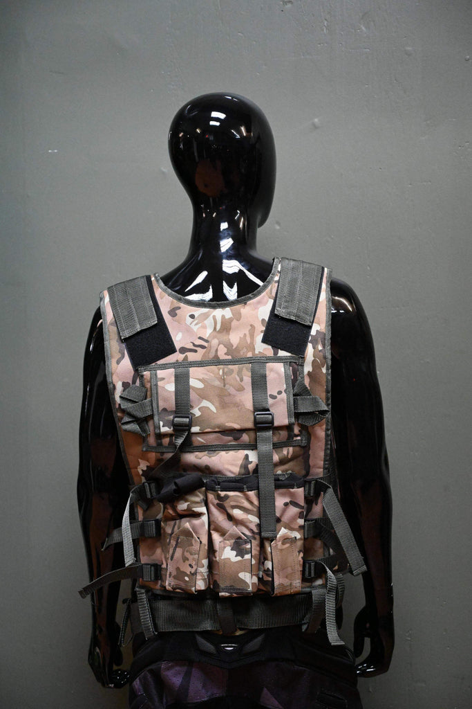 Eminent Paintball Vest - Desert - Eminent Paintball And Airsoft