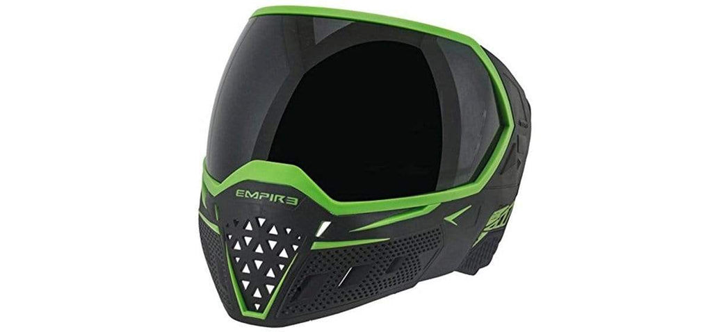 Empire EVS Goggle Black/Lime - Thermal Clear - Eminent Paintball And Airsoft