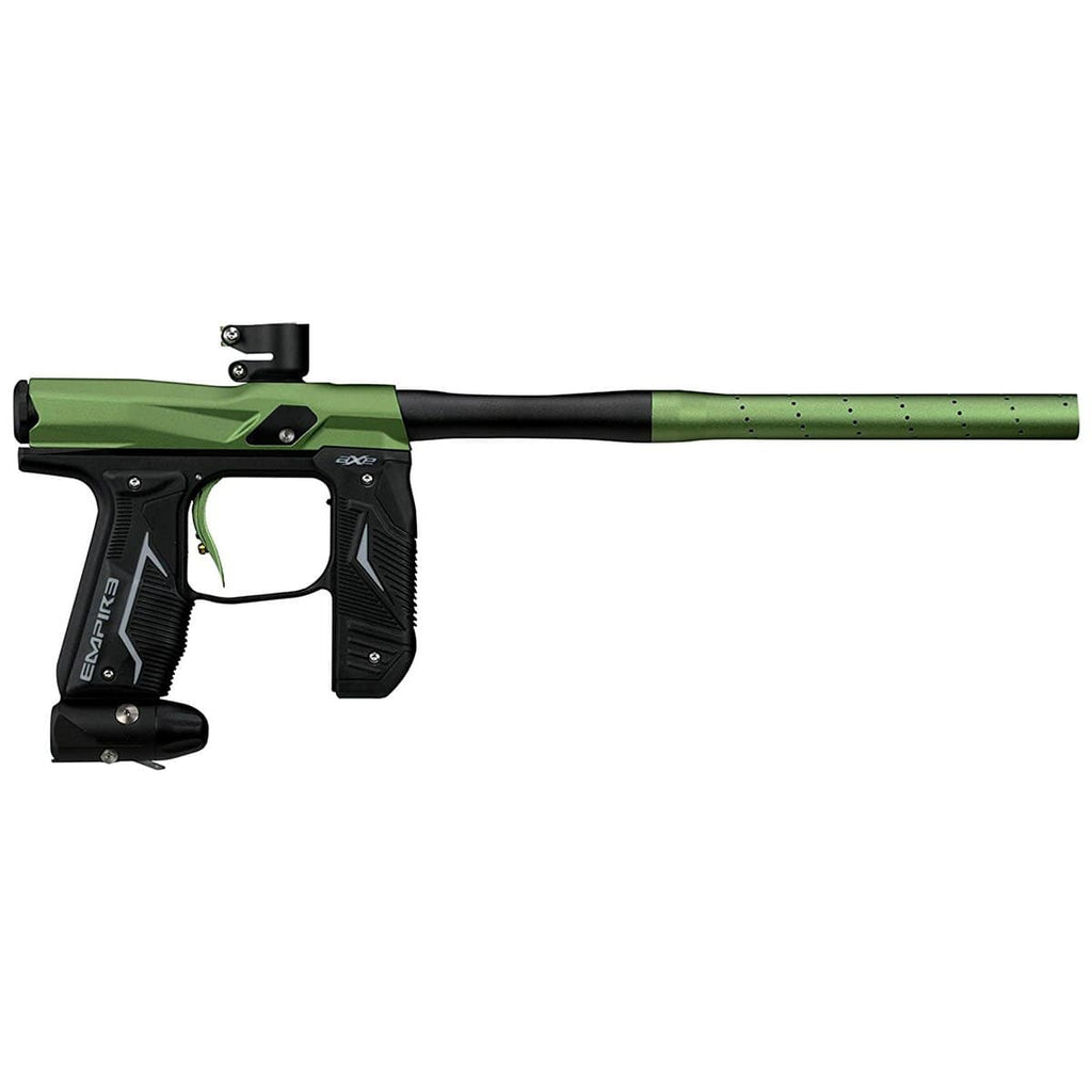 Empire Axe 2.0 Marker - Dust Black / Dust Green - Eminent Paintball And Airsoft