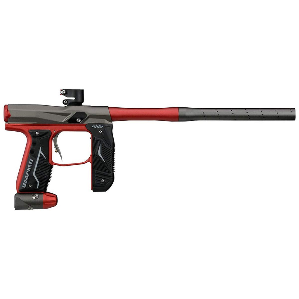 Empire Axe 2.0 Marker - Dust Black / Dust Red - Eminent Paintball And Airsoft