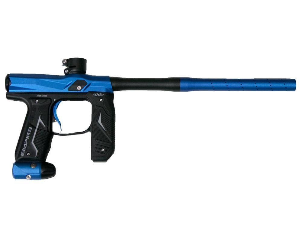 Empire Axe 2.0 Marker - Dust Blue / Dust Black - Eminent Paintball And Airsoft