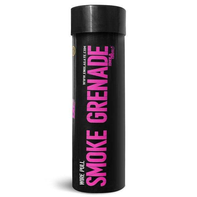 Wire Pull Smoke Grenade WP40 - Purple - Eminent Paintball And Airsoft