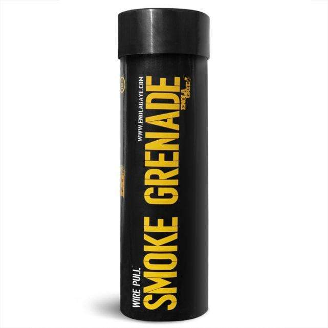 Wire Pull Smoke Grenade WP40 -Yellow - Eminent Paintball And Airsoft