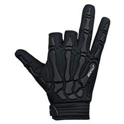 DEATH GRIP GLOVE - HALF FINGER - BLACK - Eminent Paintball And Airsoft