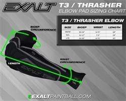 Exalt T3 ELBOW PAD - Eminent Paintball And Airsoft