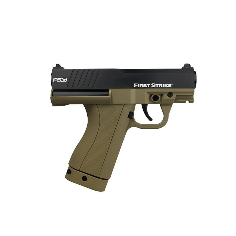 First Strike FSC Paintball Pistol / FDE - Eminent Paintball And Airsoft