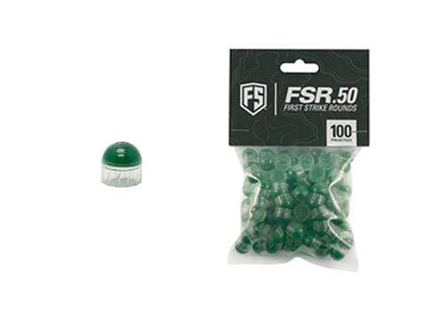 FIRST STRIKE .50 cal FSR Paintballs - 100 ct - Eminent Paintball And Airsoft