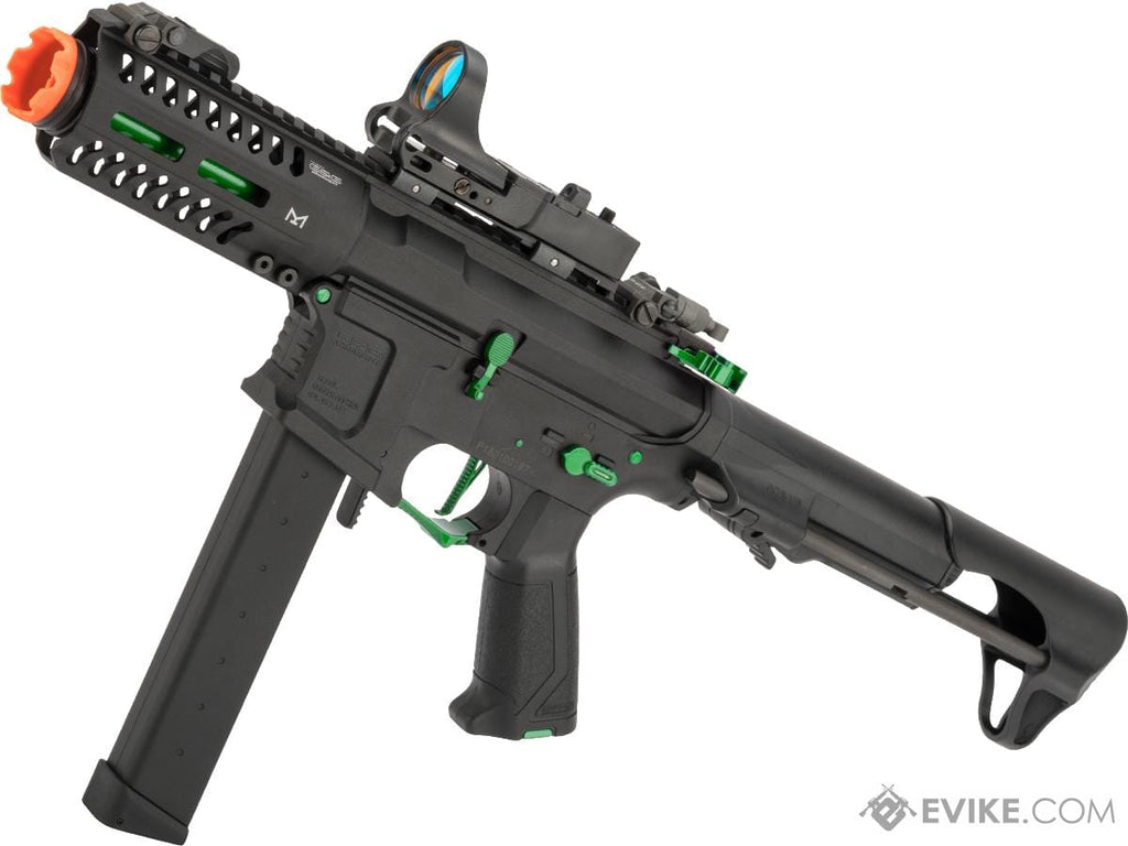 G&G CM16 ARP9 CQB Carbine Airsoft AEG (Jade) - Eminent Paintball And Airsoft
