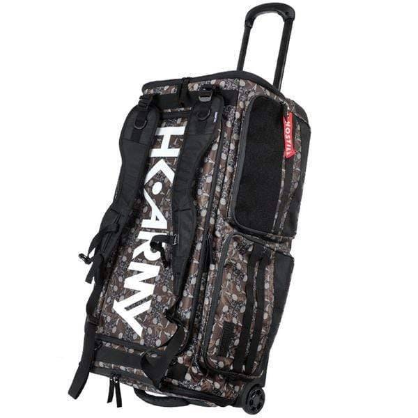 Expand 75L - Roller Gear Bag - Hostilewear Brown - Eminent Paintball And Airsoft