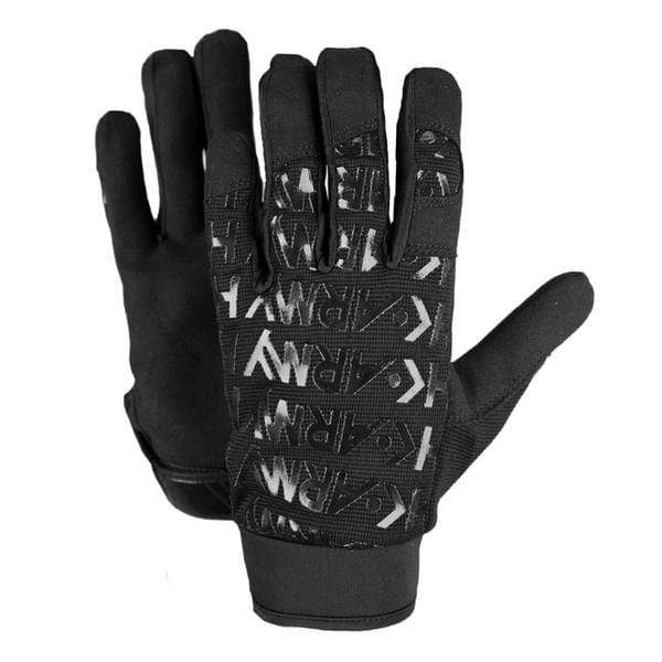 HSTL Glove Black (Full Finger) - Eminent Paintball And Airsoft