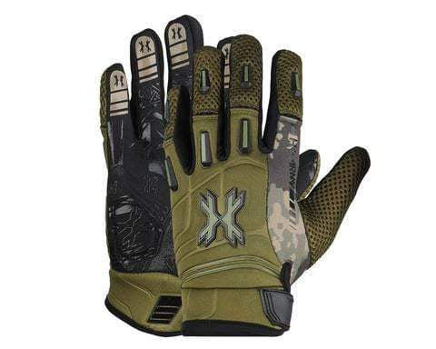 Pro Glove Olive (Full Finger) - Eminent Paintball And Airsoft