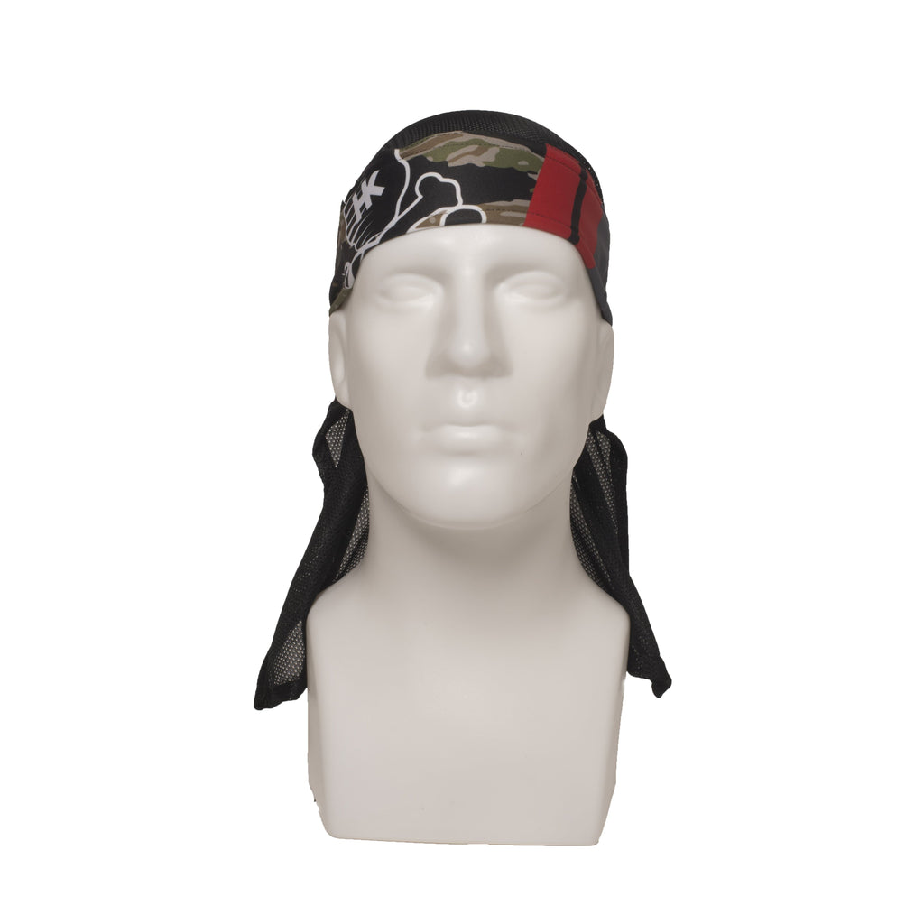 MR. H Slayer Woodland Headwrap - Eminent Paintball And Airsoft