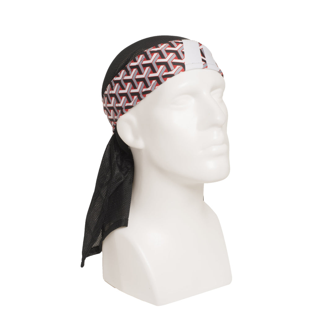 MR. H Stahk Red Headwrap - Eminent Paintball And Airsoft