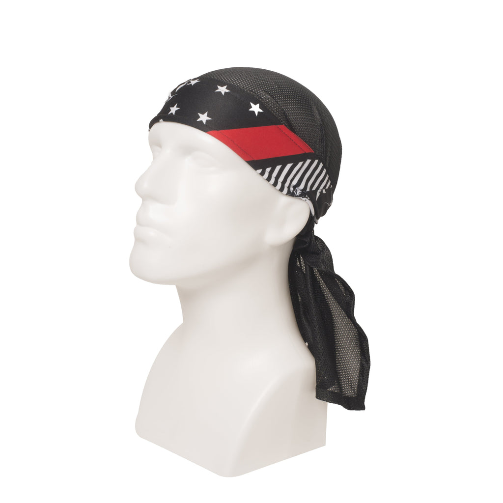 Reign Red Headwrap - Eminent Paintball And Airsoft