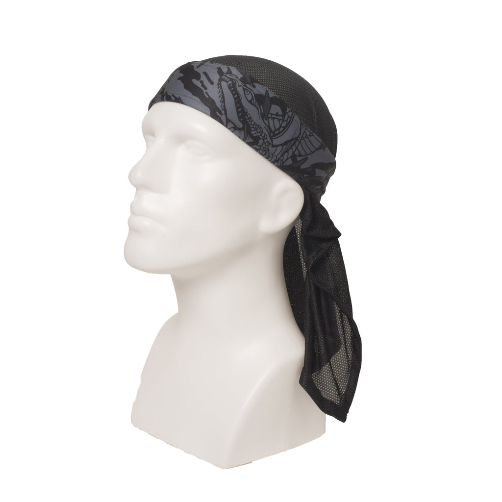 Ryu Gray Headwrap - Eminent Paintball And Airsoft