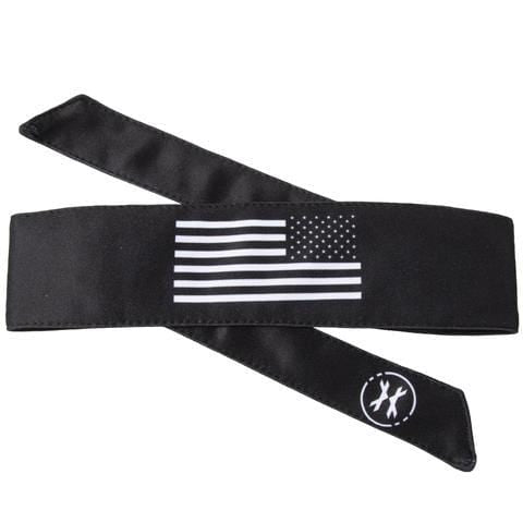 USA Flag Black/White Headband - Eminent Paintball And Airsoft