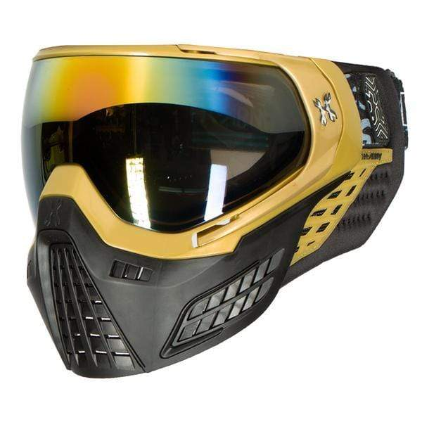 KLR Goggle Blackout Gold (Gold/Black) - Eminent Paintball And Airsoft