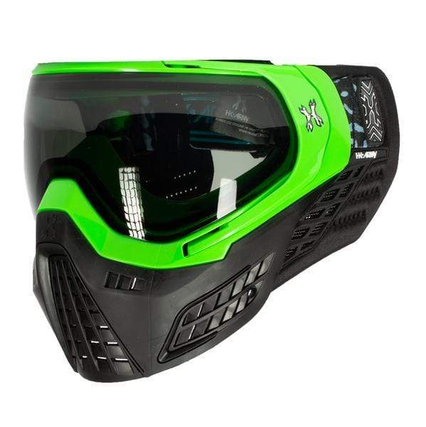 KLR Goggle Blackout Neon Green (Neon Green/Black) - Eminent Paintball And Airsoft