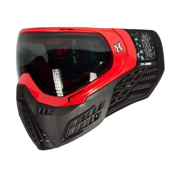 KLR Goggle Blackout Red (Red/Black) - Eminent Paintball And Airsoft