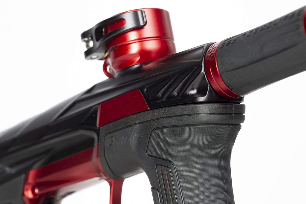 Invader CS2 Pro - Lava - Dust Black/ Red - Eminent Paintball And Airsoft