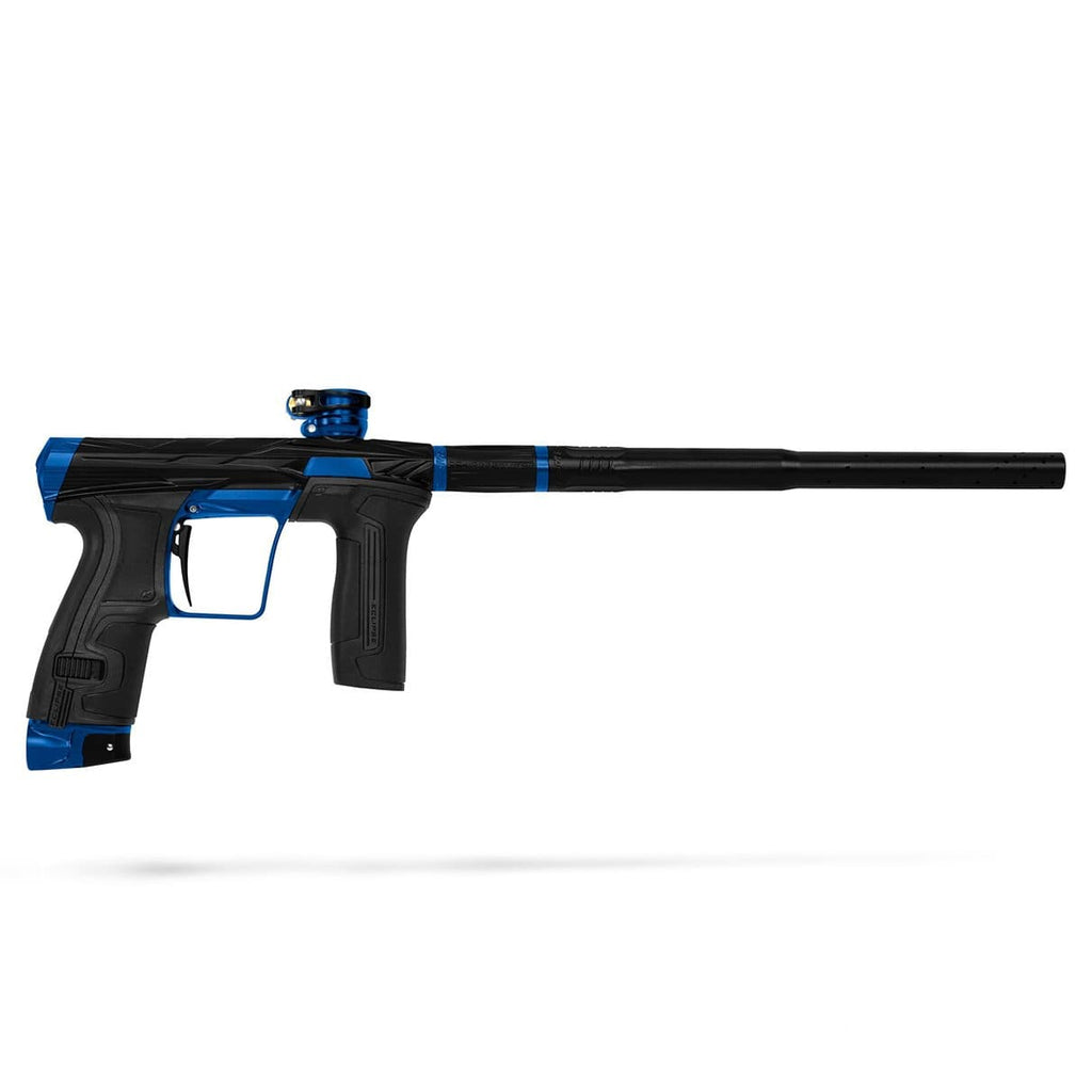 Invader CS2 Pro - Sapphire - Dust Black/ Blue - Eminent Paintball And Airsoft