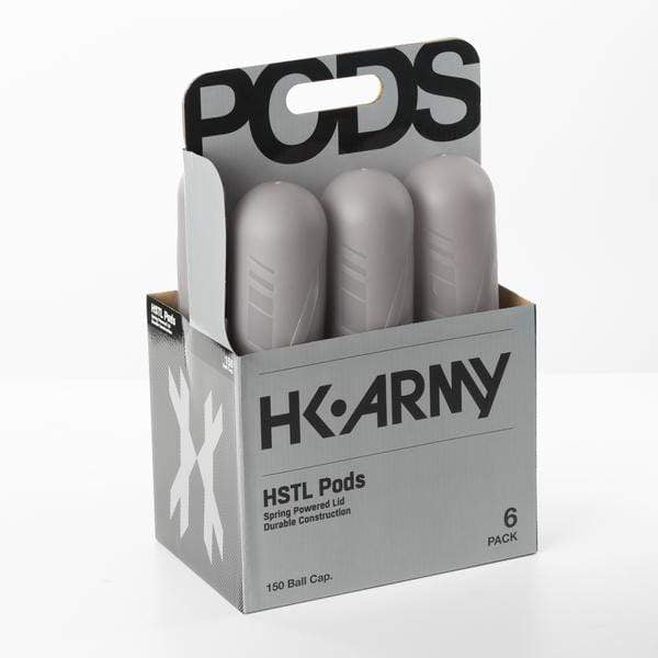 HSTL Pods - High Capacity 150 Round - Smoke/Black - Eminent Paintball And Airsoft