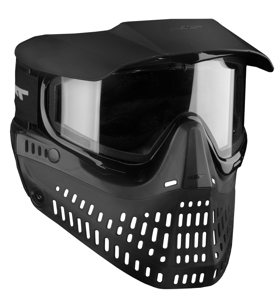 JT ProShield V2 Spectra Thermal Paintball Goggle Mask - Black - Eminent Paintball And Airsoft