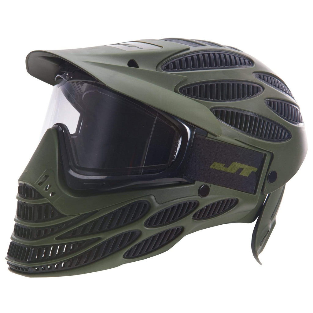 JT SPECTRA FLEX 8 THERMAL FULL COVERAGE GOGGLE - Olive - Eminent Paintball And Airsoft