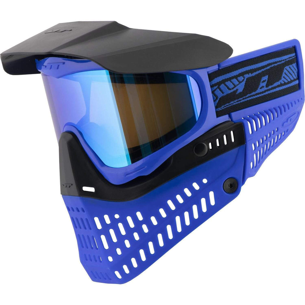 JT Spectra Pro-Flex Mask LE Blue / Black W/ Sky 2.0 Prizm Thermal Lens - Eminent Paintball And Airsoft
