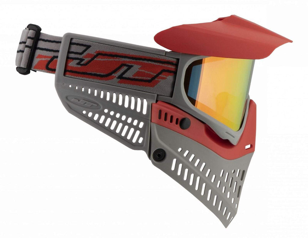 JT Spectra Proflex LE Thermal Goggle Red/Gray w/ Prizm 2.0 Lava Thermal Lens - Eminent Paintball And Airsoft