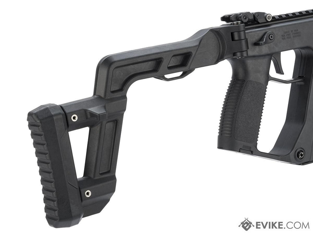 KRISS USA Licensed Kriss Vector Airsoft AEG SMG Rifle by Krytac (Model: Black) - Eminent Paintball And Airsoft