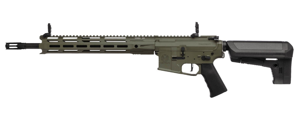Krytac Full Metal Trident MKII SPR Airsoft AEG Rifle (Color: Foliage Green)) - Eminent Paintball And Airsoft
