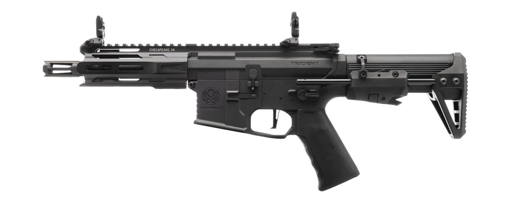 Krytac Trident MKII PDW-M Airsoft AEG Rifle (Color: Black) - Eminent Paintball And Airsoft