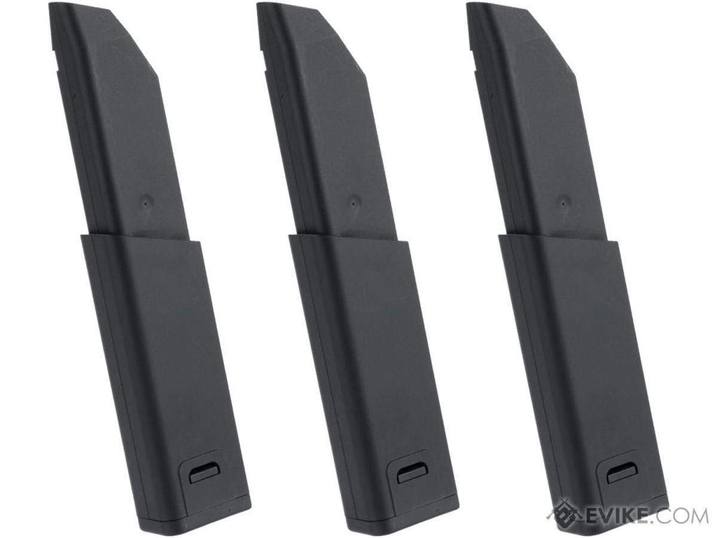 KRYTAC G30 95rd Magazine for KRISS Vector Airsoft AEG (Package: Set of 3) - Eminent Paintball And Airsoft