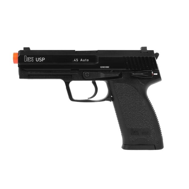 Heckler & Koch / Umarex Full Metal USP Full Size NS2 Airsoft Gas Blowback Gun by KWA - Eminent Paintball And Airsoft