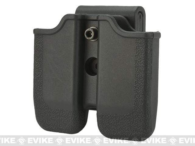 Matrix Hardshell Adjustable Magazine Holster for 1911 Series Pistol Mags (Mount: Belt Attachment) - Eminent Paintball And Airsoft