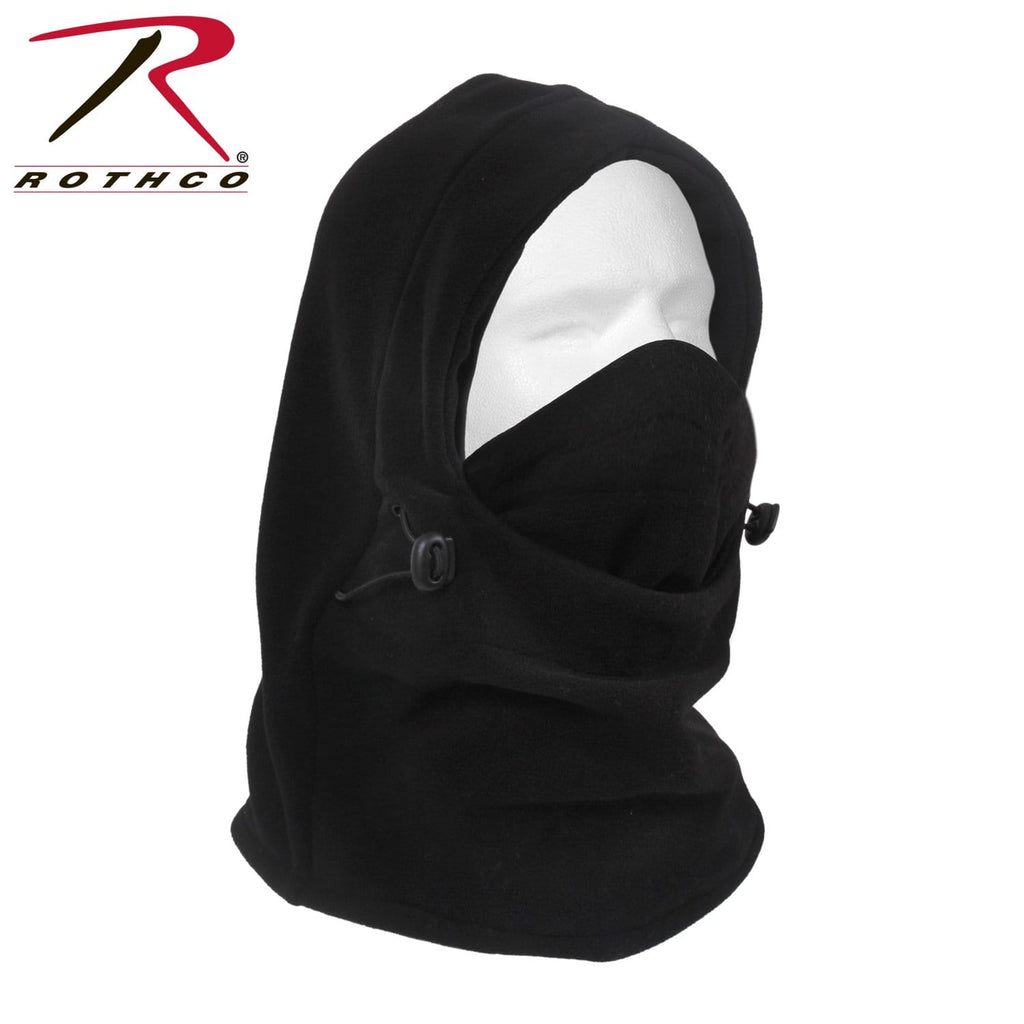 Rothco 3-In-1 Adjustable Double Layer Fleece Balaclava - Eminent Paintball And Airsoft