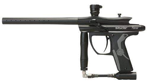 2012 KINGMAN SPYDER FENIX ELECTRONIC PAINTBALL GUN - DIAMOND BLACK - Eminent Paintball And Airsoft