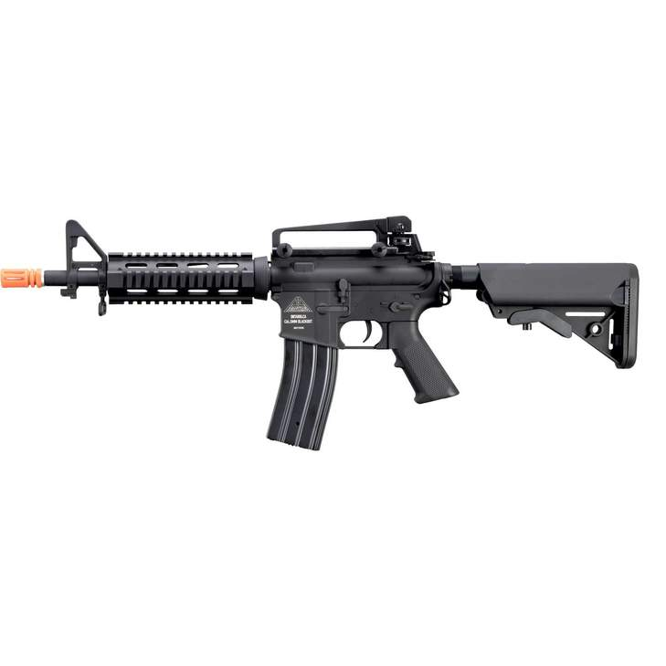 Adaptive Armament CQB AEG - USA 10.5 Carbine,Semi/Full Orange Tip (340 - 350) - Eminent Paintball And Airsoft